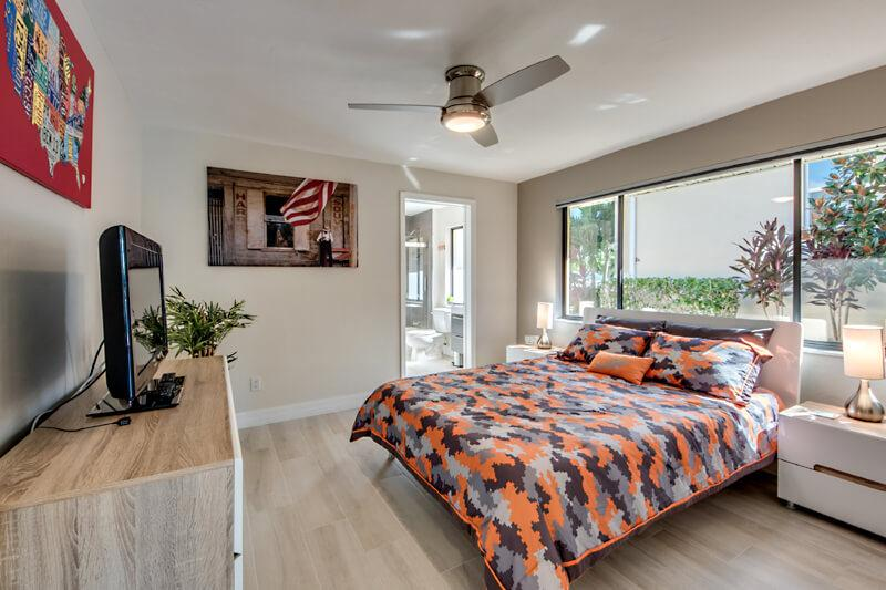 Schlafzimmer 3 mit Bad in Cape Coral