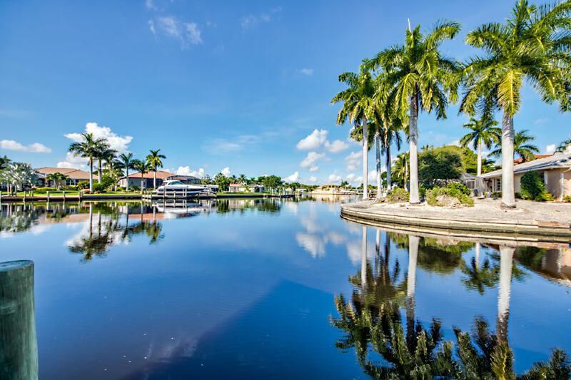 Direkt am Wasser Ferienhaus in Cape Coral mieten