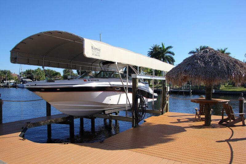 Dock ferienhaus in Cape Coral direkt am Wasser