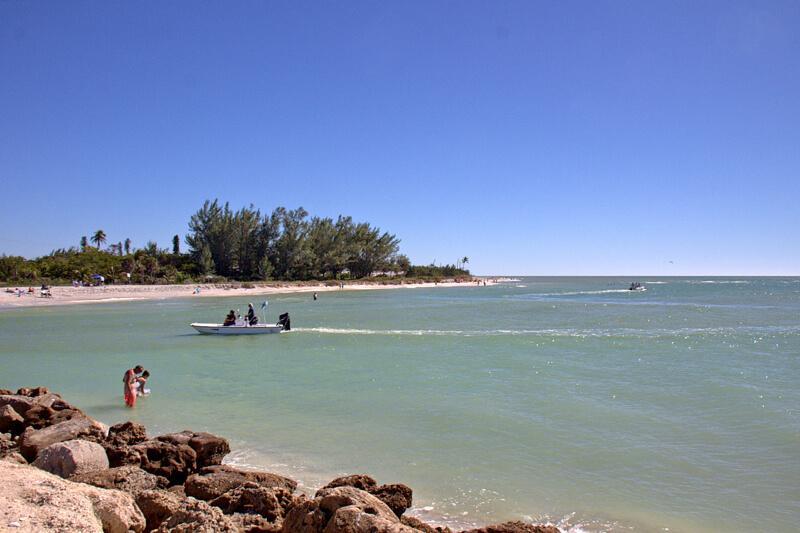 Sanibel Island Strand Baden Fischen Tagesausflug von Cape Coral