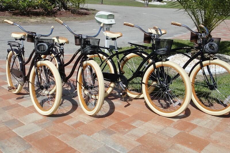 Fahrräder im Mietpreis inklusive